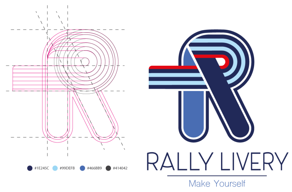 logo rally livery
